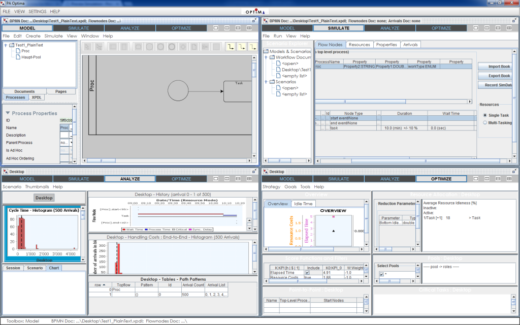 process simulation vizi bpm bpm modeling bpm manager bpm sharepoint - Bpmn Simulation